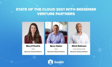 SaaStr Podcast 436: The State of the Cloud 2021 with Bessemer Venture Partners