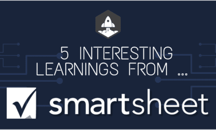 5 Interesting Learnings from SmartSheet at $400,000,000 in ARR