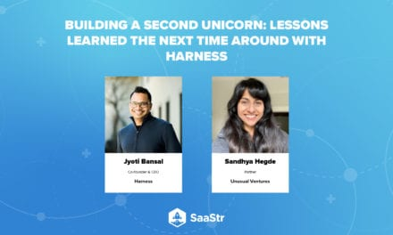 SaaStr Podcast 453 (and Video): Building a Second Unicorn: A Deep Dive With Jyoti Bansal